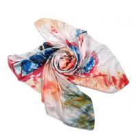 Quality Silk Habotai digital Printing Scarf for sale