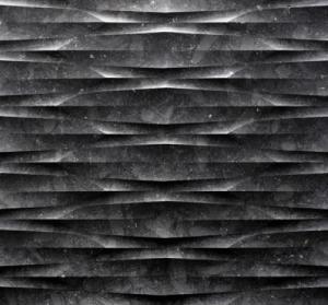 Natural Marble 3d feature sculptural wall art tiles Manufactures