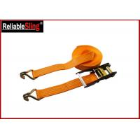 50mm Width Heavy Duty Cargo Straps Ratchet Lashing Belt with 4 Ton B.S. Manufactures