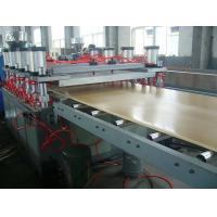Quality Anti Chemical Corrosion Plastic Board Production Line Crust Foam WPC Board for sale