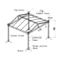 450x450mm aluminum truss system, aluminum spigot truss for outdoor show Manufactures