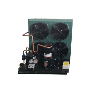 China KUB ZB58KQE 8hp R404 Commercial Condensing Unit , Condensing Unit Components Scroll Compressor Low Temperature on sale