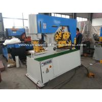 High Performance Hydraulic Ironworker Machine 25mm Thickness Steel Manufactures