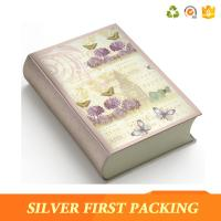 Silver First hot sale custom decorative magnet book shape box Manufactures