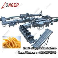 Automatic Frozen French Fries Making Machine With Factory Price with Stainless Steel Material Manufactures