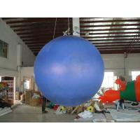 0.18mm helium PVC Giant Neptune Inflatable Helium Balloons ,Round shaped For Outdoor Celebration and special events Manufactures