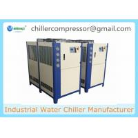 10HP ,8TR Industrial Plastic Injection Moulding Water Chiller Air Cooled Chiller Manufactures