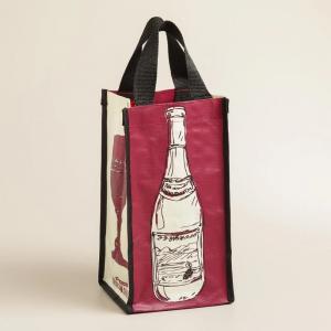 China Wine Bottle Bag Non-woven Colorfull Customized Secret Wine Bag of Wine on sale