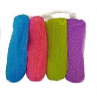 Exfoliating Mesh Soap Saver Pouch (4pk)(Color Assorted) Manufactures
