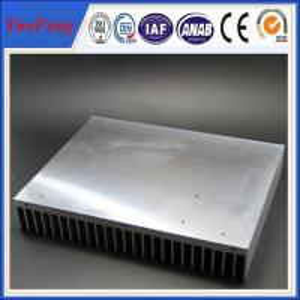 Industrial aluminum radiator profile /anodized aluminum extrusion heatsink for industry Manufactures