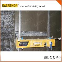 Stucco Over Brick  Wall Plastering Machine Manufactures