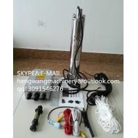 China High power DC Submersible Solar water pump for agricultural on sale