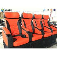 Special Control System 4D Digital Movie Theater System With Motion Chairs Manufactures