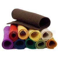 China Polyester felt fabric roll on sale
