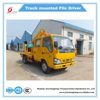 China 2017 NJJ5070TQX5 Highway Truck-mounted Guardrail Installation Machine Post Driver for sale on sale