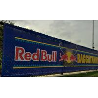SGS Promotional Mesh Vinyl Banner Great For Windy Outdoor Locations Manufactures