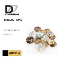 Akoya Shell White Pearl Natural Color Buttons Classic Round 2 Holes Manufactures