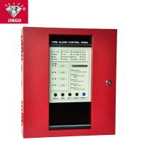 Conventional fire alarm 24V 2 wire systems controll panel 4 zones Manufactures