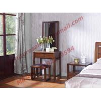 Modern Design Solid Wooden Dressers with Mirror in Bedroom Furniture Manufactures