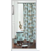 Dream Circle Blue 100% Polyester Shower Curtain For Home / Hotel Manufactures