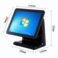 Free Bezel Capacitive Touch Screen Pos System Windows 10 Vtop Black Point Of Sale Devices Manufactures