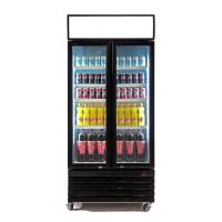 China 580L Commercial Supermarket Refrigeration Equipment , Reach In Beverage Cooler on sale