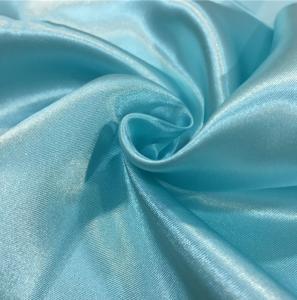 Cloth Lining Lightweight Chiffon Fabric , Colorful Polyester Chiffon Fabric Manufactures