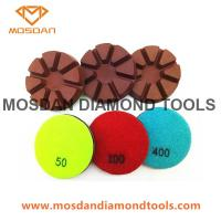 3 Inch Dry Use Hybrid Copper Floor Polishing Pads for Concrete Manufactures