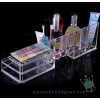 China acrylic cosmetic organizer with drawers on sale
