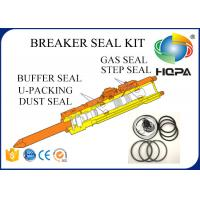 Blue + White + Black Hydraulic Hammer Seal Kit For Breaker Repair Parts Standard Size Manufactures