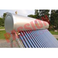 Pvc Pipe Solar Water Heater Glass Tubes , Home Solar Water Heating Systems