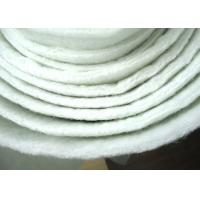 Non Woven Micron Filter Cloth Polyester Filter Media Anti Acid ISO Manufactures