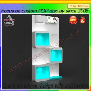 China Commercial Use Acrylic floor Shoe Display stand Shoe Display shelf on sale