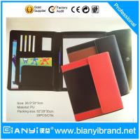 Leather A4 paper size writting pads available customization Manufactures