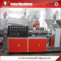 China pvc threading pipe production line on sale