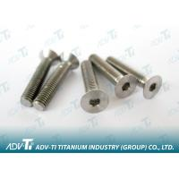 DIN 7991 titanium Hexagon socket countersunk head screw Titanium Fastener Manufactures