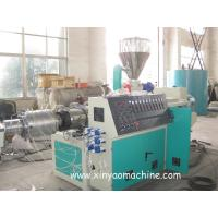 Electric PVC Pipe Extrusion Machine With DTC Spiral feeding machine Manufactures