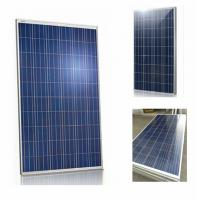 Polycrystalline Home Roof Solar Panels 280 Watt With Low - Iron Tempered Glass Manufactures