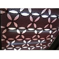 Metal Aluminum Decorative Panels Engraved Perforated For Exterior Wall Decoration Manufactures
