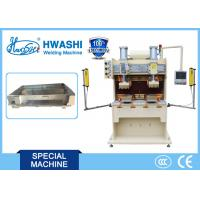 Electrical Welding Machine , Steel Printer Box Welder with Double Work Position Manufactures