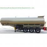 Aluminium Alloy 47000L Tank Semi Trailer For Oil , Diesel , Gasoline , Kerosene Delivery Manufactures