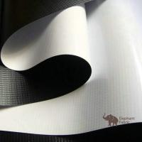 Soft White / Black 0.40mm Woven Polypropylene Roll Layer Matte Surface Manufactures