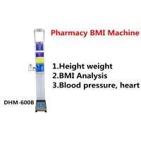 Pharmacy Height And Weight Measuring Scale With Blood Pressure Machine DHM - 600B Manufactures