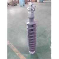 Quality 69KV Line Post Insulators With Gray Sheds, ANSI Standard, Flange-Clamp for sale