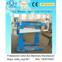 Recycled Waste Paper Carton Making Machine , Carton Stapler With Brisk Movement Manufactures