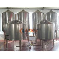 Professional Microbrewery Equipment Stainless Steel Brewing Vats 1000L Manufactures
