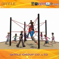 Anti Theft Screws Kids Climbing Net CE Certificate For Super Market Manufactures