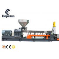 Conical Twin Screw Extruder Pvc / Plastic Pvc Extruder Machine Compact Configuration Manufactures