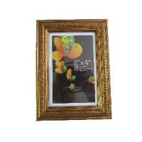 6x4 Shiny Gold Colour Picture Framing/Wide Picture Frames Manufactures