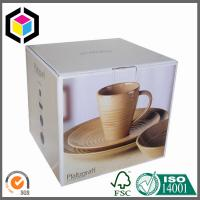 Coffee Cup CMYK Full Color Offset Litho Print Paper Corrugated Packaging Box Manufactures